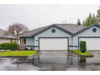 """Photo 1: 76 5550 LANGLEY Bypass in Langley: Langley City Townhouse for sale in """"Riverwynde"""" : MLS®# R2520087"""