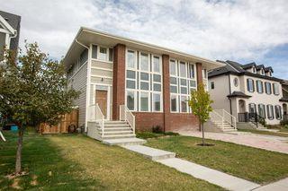 Photo 1: 383 Mahogany Boulevard SE in Calgary: Mahogany Semi Detached for sale : MLS®# A1037940