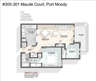 "Photo 17: 305 301 MAUDE Road in Port Moody: North Shore Pt Moody Condo for sale in ""HERITAGE GRANDE"" : MLS®# R2427216"