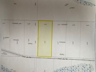 """Photo 1: LOT 6 CHIEF LAKE Road in Prince George: Nukko Lake Land for sale in """"CHIEF LAKE"""" (PG Rural North (Zone 76))  : MLS®# R2464872"""