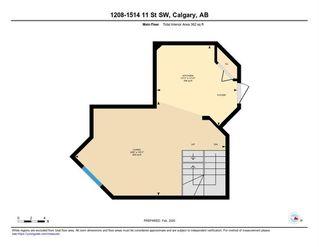 Photo 27: 1208 1514 11 Street SW in Calgary: Beltline Apartment for sale : MLS®# C4293346