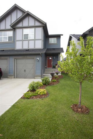 Photo 25: 127 AMBERLEY Way: Sherwood Park House Half Duplex for sale : MLS®# E4206824