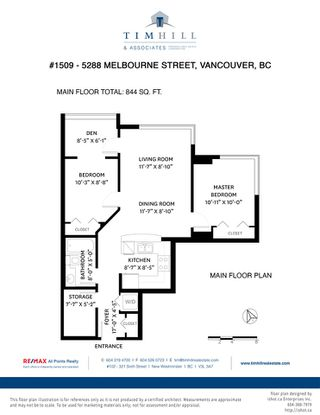 """Photo 22: 1509 5288 MELBOURNE Street in Vancouver: Collingwood VE Condo for sale in """"Emerald Park Place"""" (Vancouver East)  : MLS®# R2525897"""