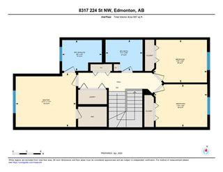 Photo 23: 8317 224 Street NW in Edmonton: Zone 58 House Half Duplex for sale : MLS®# E4194695