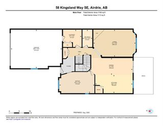 Photo 63: 58 KINGSLAND Way SE: Airdrie Detached for sale : MLS®# A1028143