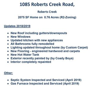 Photo 20: 1085 ROBERTS CREEK Road: Roberts Creek House for sale (Sunshine Coast)  : MLS®# R2392415