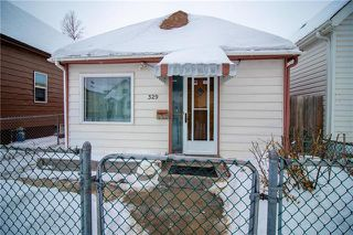 Photo 1: 329 Aberdeen in Winnipeg: Single Family Detached for sale (4A)  : MLS®# 202003615