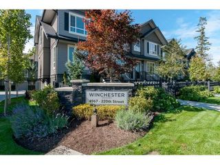 "Photo 2: 28 4967 220 Street in Langley: Murrayville Townhouse for sale in ""WINCHESTER ESTATES"" : MLS®# R2455894"
