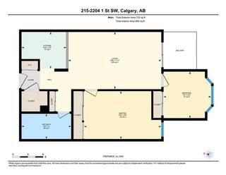 Photo 22: 215 2204 1 Street SW in Calgary: Mission Apartment for sale : MLS®# A1057983