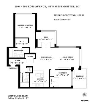 """Photo 20: 2504 280 ROSS Drive in New Westminster: Fraserview NW Condo for sale in """"CARLYLE"""" : MLS®# R2423975"""
