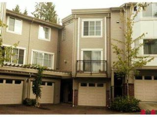 """Photo 1: 35 15450 101A Avenue in Surrey: Guildford Townhouse for sale in """"CANTERBURY"""" (North Surrey)  : MLS®# R2429895"""