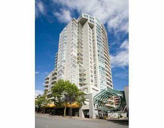 """Photo 1: 1202 1500 HOWE ST in Vancouver: False Creek North Condo for sale in """"THE DISCOVERY"""" (Vancouver West)  : MLS®# V602479"""