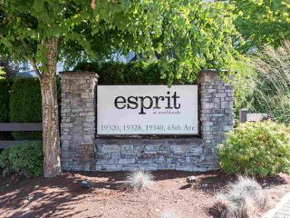 """Photo 1: 310 19320 65 Avenue in Surrey: Clayton Condo for sale in """"esprit"""" (Cloverdale)  : MLS®# R2401302"""