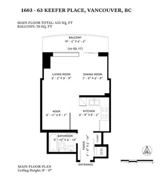 """Photo 20: 1603 63 KEEFER Place in Vancouver: Downtown VW Condo for sale in """"Europa"""" (Vancouver West)  : MLS®# R2434415"""