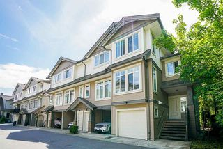 "Photo 1: 35 8250 209B Street in Langley: Willoughby Heights Townhouse for sale in ""OUTLOOK"" : MLS®# R2481855"