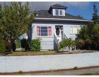 Photo 1: 1321 NANAIMO ST in New Westminster: West End NW House for sale : MLS®# V558578