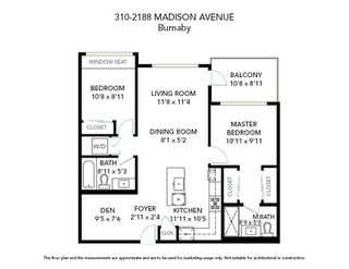 """Photo 20: 310 2188 MADISON Avenue in Burnaby: Brentwood Park Condo for sale in """"Madison & Dawson"""" (Burnaby North)  : MLS®# R2447969"""
