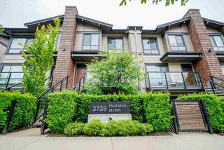 "Main Photo: 8 3728 THURSTON Street in Burnaby: Central Park BS Townhouse for sale in ""THURSTON"" (Burnaby South)  : MLS®# R2472066"