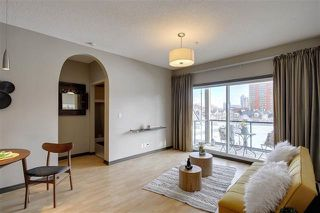 Photo 4: 409 10235 112 Street NW in Edmonton: Zone 12 Condo for sale : MLS®# E4212241