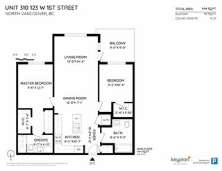 """Photo 21: 310 123 W 1ST Street in North Vancouver: Lower Lonsdale Condo for sale in """"First Street West"""" : MLS®# R2513284"""