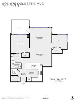 "Photo 21: 505 575 DELESTRE Avenue in Coquitlam: Coquitlam West Condo for sale in ""CORA"" : MLS®# R2527705"