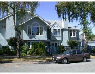 Main Photo: 3119 PINE ST in Vancouver: Fairview VW Townhouse for sale (Vancouver West)  : MLS®# V554002