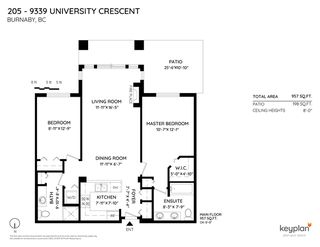 """Photo 2: 205 9339 UNIVERSITY Crescent in Burnaby: Simon Fraser Univer. Condo for sale in """"Harmony"""" (Burnaby North)  : MLS®# R2456771"""