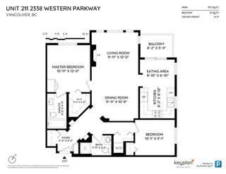 "Photo 20: 211 2338 WESTERN Parkway in Vancouver: University VW Condo for sale in ""WINSLOW COMMONS"" (Vancouver West)  : MLS®# R2429976"