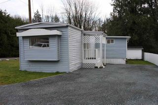 "Photo 1: 7 41495 N NICOMEN Road in Mission: Mission BC Manufactured Home for sale in ""LAKAHAHMEN MOBILE HOME PARK"" : MLS®# R2446845"