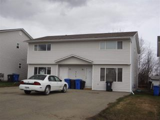 Main Photo: A&B 8112 90 Avenue in Fort St. John: Fort St. John - City SE Duplex for sale (Fort St. John (Zone 60))  : MLS®# R2528655