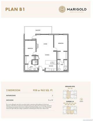 Photo 2: 206 2500 Hackett Cres in Central Saanich: CS Turgoose Condo Apartment for sale : MLS®# 830537
