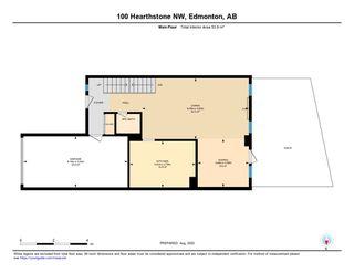 Photo 43: 100 HEARTHSTONE in Edmonton: Zone 14 Townhouse for sale : MLS®# E4218944
