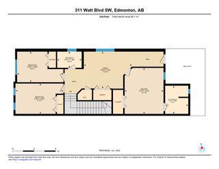 Photo 47: 311 WATT Boulevard in Edmonton: Zone 53 House Half Duplex for sale : MLS®# E4201536