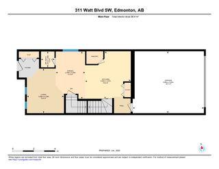 Photo 46: 311 WATT Boulevard in Edmonton: Zone 53 House Half Duplex for sale : MLS®# E4201536