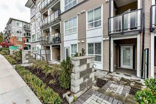 "Photo 1: 106 6468 195A Street in Surrey: Clayton Condo for sale in ""YALE BLOC1"" (Cloverdale)  : MLS®# R2528396"