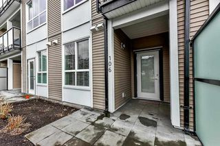 "Photo 2: 106 6468 195A Street in Surrey: Clayton Condo for sale in ""YALE BLOC1"" (Cloverdale)  : MLS®# R2528396"