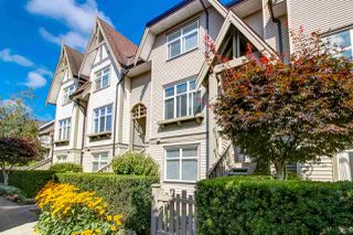"Photo 1: 30 7288 HEATHER Street in Richmond: McLennan North Townhouse for sale in ""BARRINGTON WALK"" : MLS®# R2401613"