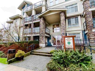 "Photo 1: 205 290 FRANCIS Way in New Westminster: Fraserview NW Condo for sale in ""THE GROVE"" : MLS®# R2433044"
