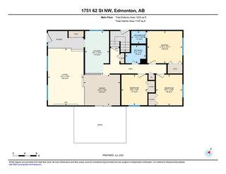 Photo 44: 1751 62 Street Edmonton 4 Bed 2.5 Bath Family House For Sale E4202239