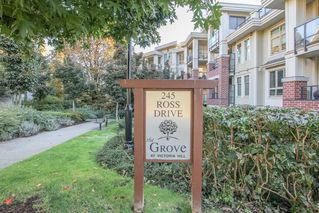 Photo 1: 311-245 Ross Drive in New Westminster: Fraserview NW Condo for sale : MLS®# R241148