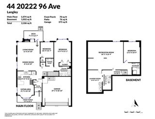 """Photo 37: 44 20222 96 Avenue in Langley: Walnut Grove Townhouse for sale in """"WINDSOR GARDENS"""" : MLS®# R2486972"""