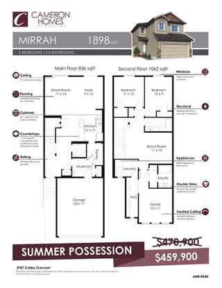 Photo 24: 2787 Collins Crescent in Edmonton: Zone 55 House for sale : MLS®# E4208649