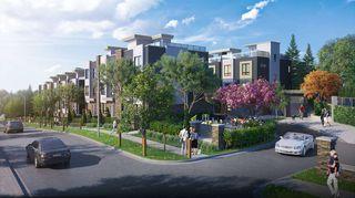 Photo 3: 3 3503 GISLASON Avenue in Coquitlam: Burke Mountain Townhouse for sale : MLS®# R2524875