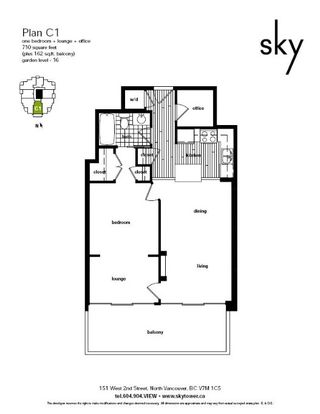 "Photo 33: 1502 151 W 2ND Street in North Vancouver: Lower Lonsdale Condo for sale in ""SKY"" : MLS®# R2528948"