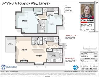 Photo 29: 3 19948 WILLOUGHBY Way in Langley: Willoughby Heights Townhouse for sale : MLS®# R2462422