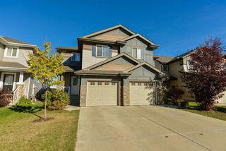 Main Photo: 16030 10 Avenue in Edmonton: Zone 56 House Half Duplex for sale : MLS®# E4216461