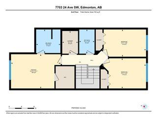 Photo 35: 7703 24 Avenue in Edmonton: Zone 53 House Half Duplex for sale : MLS®# E4218328