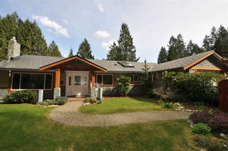 Photo 1: 4242 FONTEYN Way in North Vancouver: Canyon Heights NV House for sale : MLS®# R2466207
