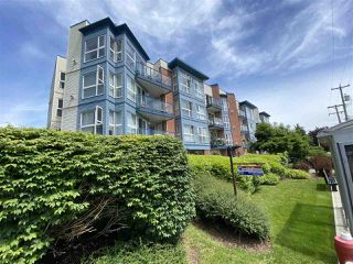 """Photo 1: 107 20277 53 Avenue in Langley: Langley City Condo for sale in """"Metro II"""" : MLS®# R2468327"""