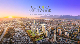Photo 1: 4880 Lougheed Highway in Burnaby: Brentwood Park Condo for sale (Burnaby North)